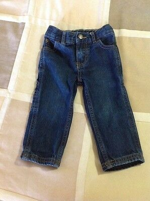 CARTERS Boys Blue  Cargo  Jeans Size 12 Month