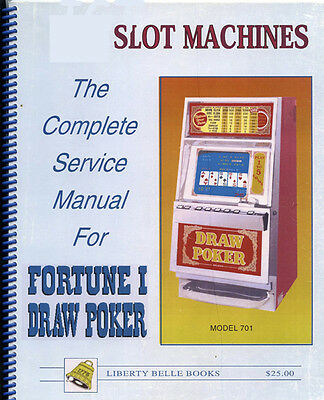 Poker Machine Manual for Fortune 1 Draw Poker Slot