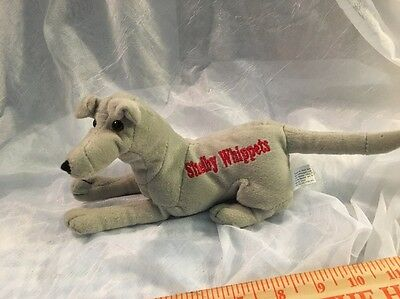 Unusual Plush Whippet  Dog Stitched Shelby Whippets Gray