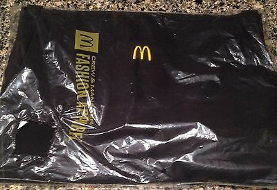 McDonald's Collection Black Grill Apron Brand New!