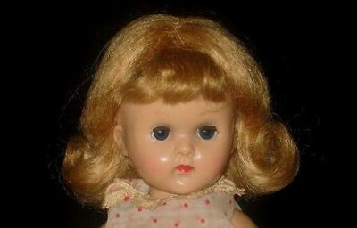 Blonde, Brown or Red Mohair wig for vintage Vogue Ginny, Ginger or Muffie doll