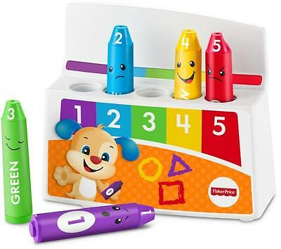 Fisher-Price Laugh & Learn Colorful Mood Crayons Baby Toddler Toy Cute Gift NEW