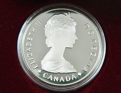 Proof Silver Dollar Royal Canadian Mint 1985 National Parks Anniversary Box Mint