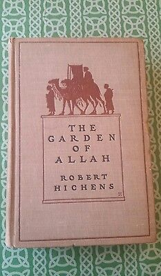 The Garden Of Allah Robert Ichens Vintage 1904 FREE SHIPPING