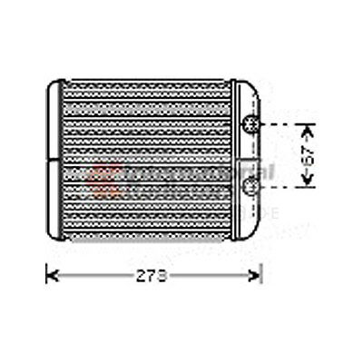 Heat exchanger Interior heating Renault Espace IV JK0/1_
