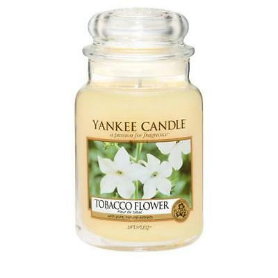 Yankee Candle Tobacco Flower Large Jar Scented Candle