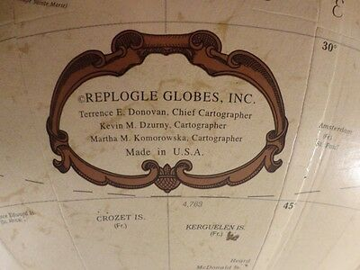 "Replogle Globe 12"" Platinum Classic with Wooden Stand"