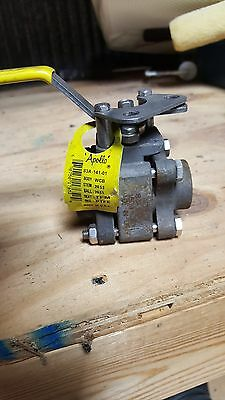 Apollo 83A-141-01 ball valve 1/4 npt high pressure 1500 psi