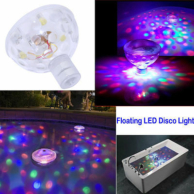 Underwater LED AquaGlow Light Show Disco RGB Lighting for Pond Pool Spa Hot Tub