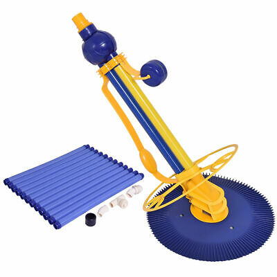 Automatic Swimming Pool Cleaner Set Clean Vacuum Inground Above Ground W/12 Hose