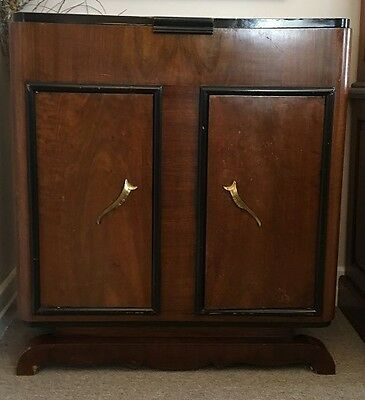rare french art cedo C 1930s drinks cabinet