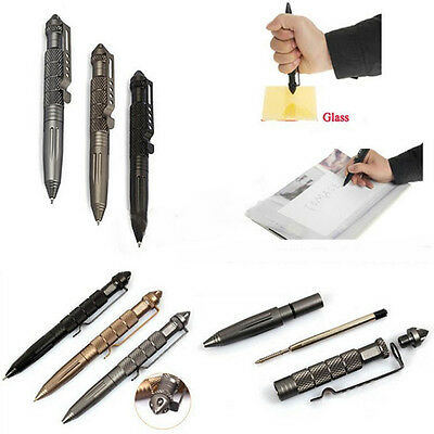 NEW Self Defense Personal Safety Tactical Pen Pencil Glass Breaker Multi-Tool