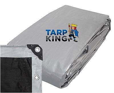 2.9m x 3.5m Heavy Duty Poly Tarp - Waterproof Outdoor Camping Tarpaulin Cover