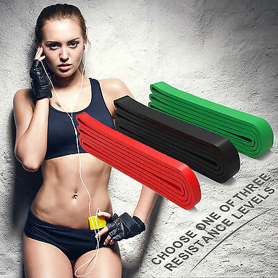 Best Resistance Band/Pull-up Workout Strength Band Power Lifting Training 2-70lb