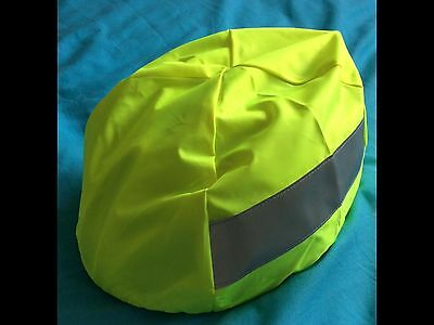 Hi-viz Cycle Helmet Cover - Cycle Response Unit / Ambulance / First Aid / Medic