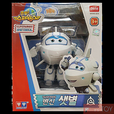 Super Wings SAETBYEOL ASTRA Transforming Space Plane Robot Figure 13cm Season 2