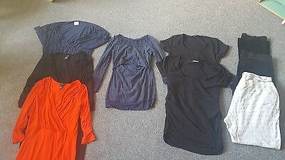 Bundle of maternity clothes size Large 14 mixed brands
