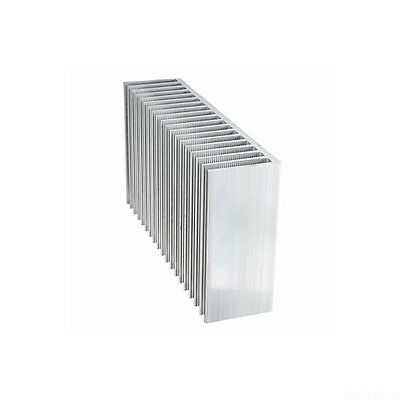 Large Big Aluminum Heat sink Radiator for Led High Power Amplifier DN