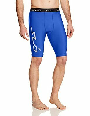 Blu (Royal) (TG. XL) Sub Sports Uomo Cold Pantaloncini a compressione Thermisch