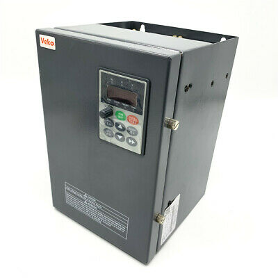 220V 5.5KW 25A 1PH Single Phase 400Hz VC V/F Control VFD for  Fan Water Pump