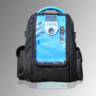 Portable Oxygen Concentrator LOVEGO + Battery NEW 93% 1-5L EU + Portable Cart