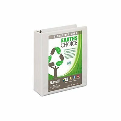Samsill Earth's Choice Biobased View Binder, 3 Ring Binder, 2 Inch, Round