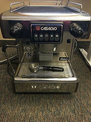 Casadio Dieci A1 (Cimbali Croup) Commercial Espresso Machine