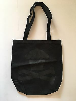 Johnny Cupcakes - Cupcakes And Crossbones - Black On Black Tote