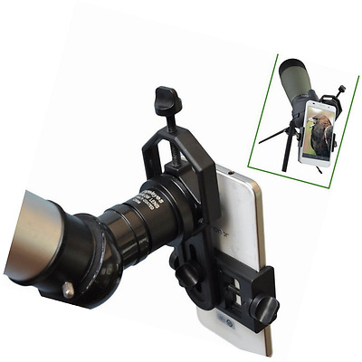 Solomark Universal Cell Phone Adapter Mount - Compatible with Binocular Monocula