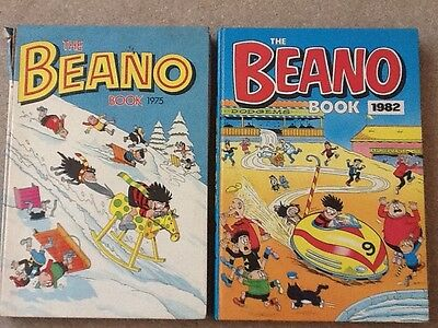 retro vintage collectable beano annuals