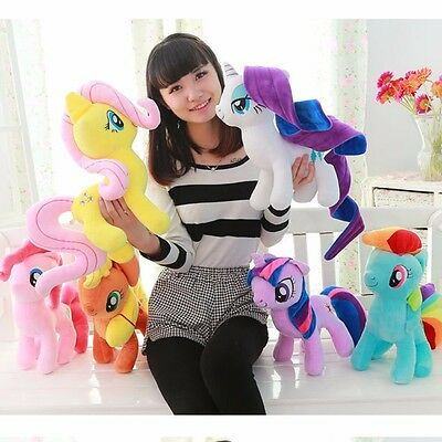19cm My Little Pony Rainbow Dash Soft Stuffed Plushed Toy Doll Kids Gift