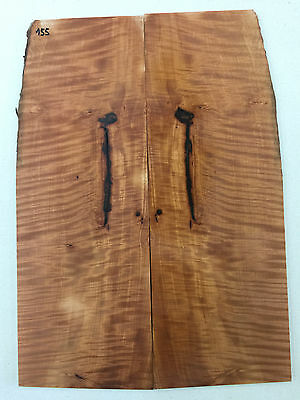 Geriegelte Birne Top | Flamed Pear Top | Tonholz | Tonewood