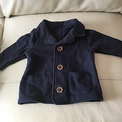 M&S Baby Boys Coat Jacket Age 0-3 Months