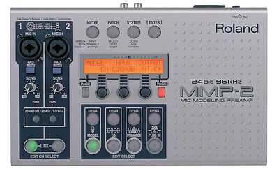 Roland MMP-2 | 2-Channel Mic Modeling Preamp