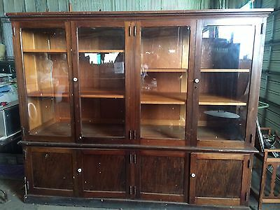 Antique Display Cabinet Early 1900's