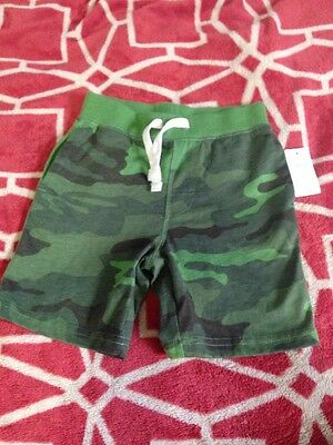 Baby Gap Boys Camo Shorts Green 2 Years Old Playtime Favorites Amazing