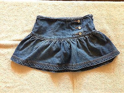 Limited Too Girls Denim Skort Size 8 Regular