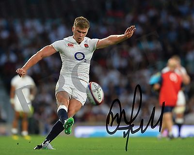 Owen Farrell Signed Photo 6 - England & British Lions Rugby 2017 (8 x 10)