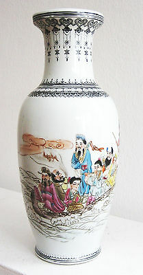 China Vase Porzellan Republik chinese porcelain vase republic period Jingdezhen