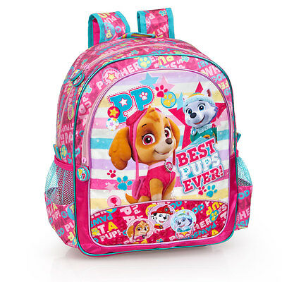 Paw Patrol BPE Pink Premium Large Backpack Rucksack Girls Travel School Bag SKYE