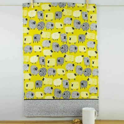 New Ulster Weavers Dotty Sheep Cotton Tea Towel Cute Contemporary Patterned