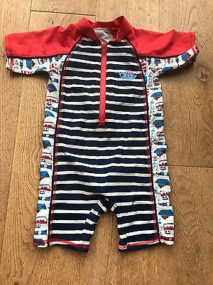 Boys sunsuit 12 - 18m
