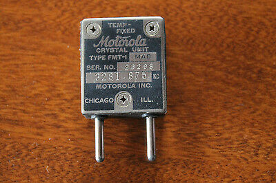 Temp-Fixed Motorola Crystal Unit FMT-1 / 3281.875KC
