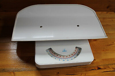 Vintage REDMON Baby Pet Scale - 44 lbs Capacity - Good Used Condition, White