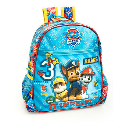 Paw Patrol Premium Blue Boys Girls Junior Nursery Backpack Rucksack School Bag