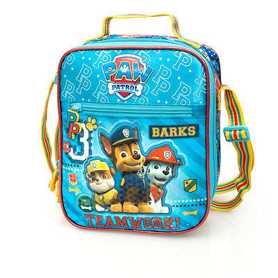 Paw Patrol Premium Blue Cooler Insulated Boys Girls School Lunch Bag