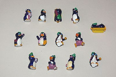 FERRERO KINDER SURPRISE toys FUNNY PINGOS 13 1995 rare collection GERMANY ITALY+