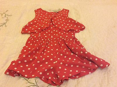 girls playsuit age 6