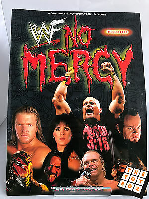 WWF Wrestling No Mercy PPV Official Souvenir Programme