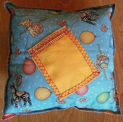 Handmade Tooth Fairy Pillow - Animals with Balloons
